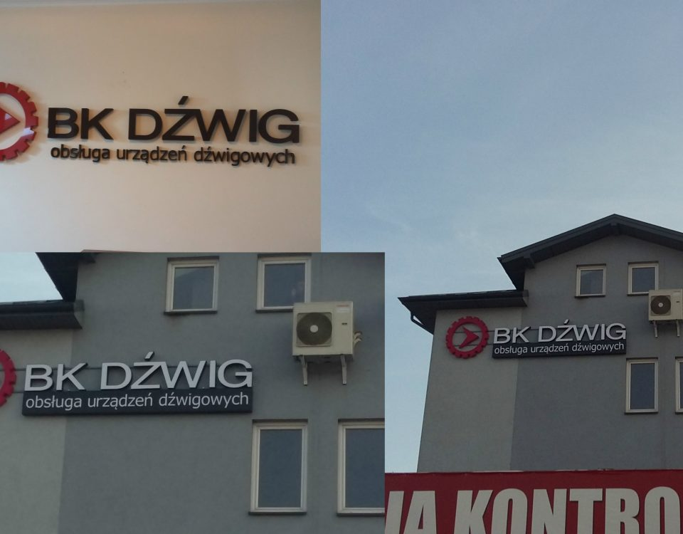 Reklamy 3D BK DZWIG