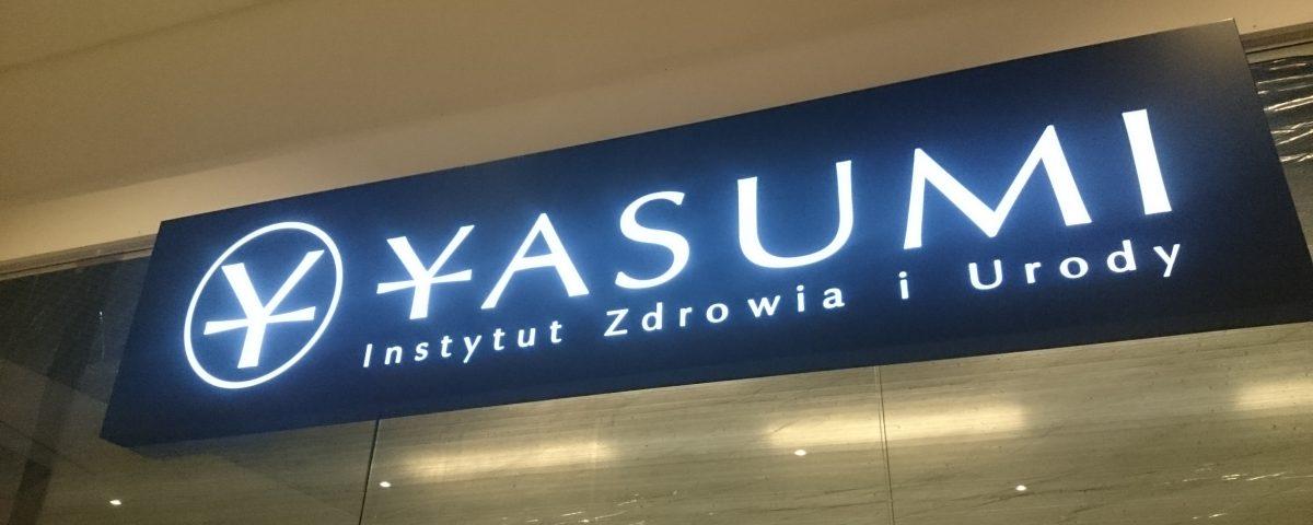Kaseton z oświetleniem LED Yasumi