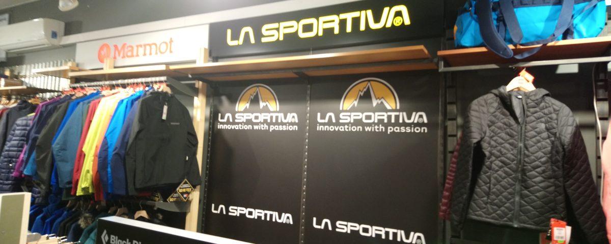 Stoisko sklepowe La sportiva